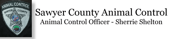 Sawyer County Animal Control Logo